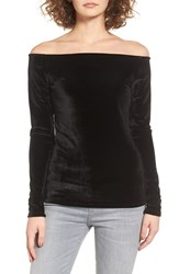 Project Social T Women's Velvet Boat Neck Tee