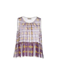 Ki6 Who Are You Topwear Tops Women Purple