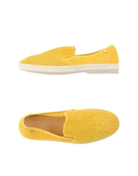 Rivieras Low Tops And Trainers Yellow