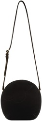 Simone Rocha Black Velvet Shoulder Bag