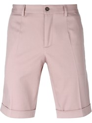 Dolce And Gabbana Tailored Shorts Pink And Purple