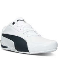 Puma Men's Bmw Ms Drift Cat 5 Casual Sneakers From Finish Line White Team Blue