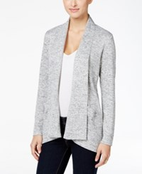 Styleandco. Style Co. Draped Cardigan Only At Macy's Grey