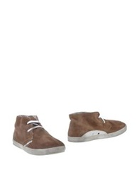Le Crown Ankle Boots Brown