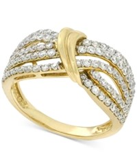Wrapped In Love Diamond Statement Ring 1 Ct. T.W. 14K Gold Only At Macy's Yellow Gold