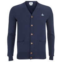 Vivienne Westwood Man Men's Classic Knitted Cardigan Navy