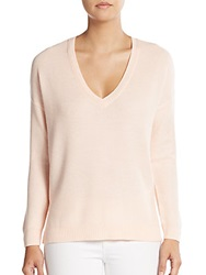 Joie Rudolpha V Neck Sweater Soft Pink