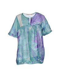 Bgn Shirts Blouses Women Green