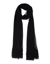 Akris Stoles Black