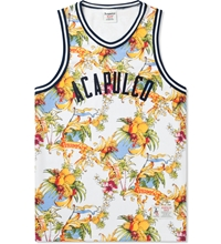 Acapulco Gold White Palm Springs Basketball Jersey