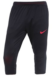 Nike Performance 3 4 Sports Trousers Black University Red