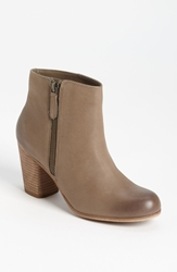 Bp 'Trolley' Ankle Bootie Grey Leather