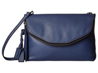Tumi Noho Chrystie East West Crossbody Steel Blue Cross Body Handbags
