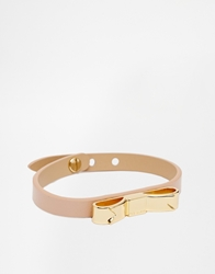 Ted Baker Leather Bow Bracelet Taupe