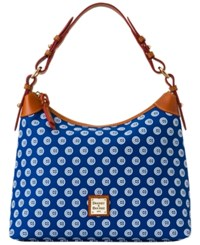 Dooney And Bourke Chicago Cubs Sac Hobo Bag Royalblue Red