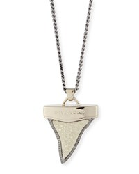 Stingray Layered Shark Tooth Necklace Givenchy Gold Silver