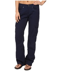 Kuhl Splash Roll Up Pant Indigo Women's Casual Pants Blue