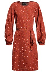 Stine Goya Dove Summer Dress Earth Copper