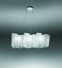 Artemide Logico Triple Linear Suspension Lamp