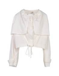 Edun Jackets White