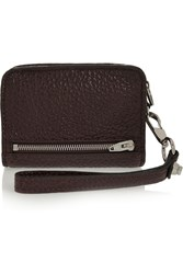 Alexander Wang Inside Out Fumo Patent Textured Leather Wallet