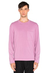 Our Legacy Box Long Sleeve Tee Lavender