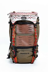 Chums Sinawava 65 Backpack Brown