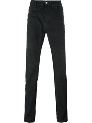 Poeme Bohemien Slim Fit Jeans Black