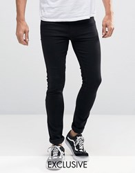 Reclaimed Vintage Super Skinny Jeans Black