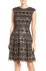Vince Camuto Women's Sequin And Lace Party Dress