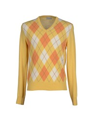 Blu Byblos Knitwear Jumpers Men Apricot
