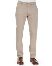 Ag Adriano Goldschmied Lux Slim Fit Chino Pants Khaki
