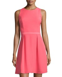 Vince Camuto Enna Knotted Back Dress Coral Bloom
