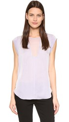 Rebecca Taylor Charlie Top Lilac
