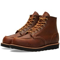 Red Wing Shoes 8886 Heritage Work 6 Moc Toe Boot Brown