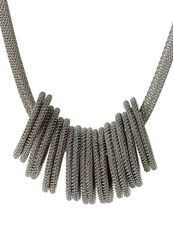 Sweet Deluxe Loopi Necklace Silvercoloured