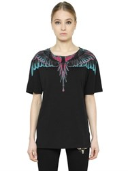 Marcelo Burlon Orely Printed Cotton Jersey T Shirt