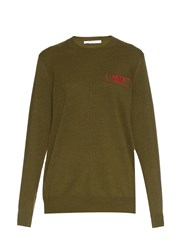Givenchy Embroidered Cashmere Sweater