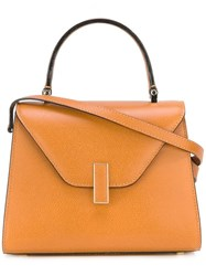 Valextra Small 'Iside' Tote Nude And Neutrals