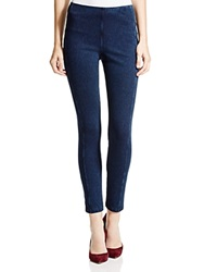 Lysse Stretch Denim Zip Leggings Indigo