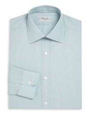 Charvet Regular Fit Cotton Shirt Green