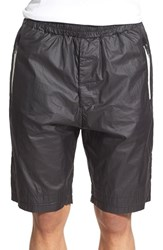 Men's Antony Morato Coated Cotton Athletic Shorts