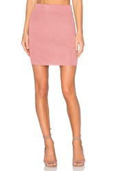 For Love And Lemons Knitz Delancey Skirt Pink