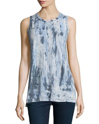 Current Elliott The Muscle Tee Tie Dye Tank Castle Dir