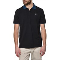 Wood Wood Black Polo Shirt