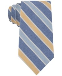 Club Room Men's Gypsy Classic Stripe Tie Only At Macy's Yellow