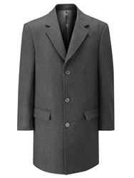 Skopes Finchley Overcoat Charcoal