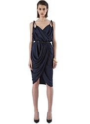 Pre Ss16 Lanvin Ruched Rope Dress