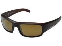 Kaenon Arlo Gold Coast Brown 12 Polarized Gold Mirror Sport Sunglasses Black