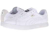 Puma Court Star Crafted White White Men's Tennis Shoes